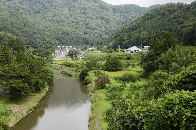 緑豊かな田園風景を保っている大子町