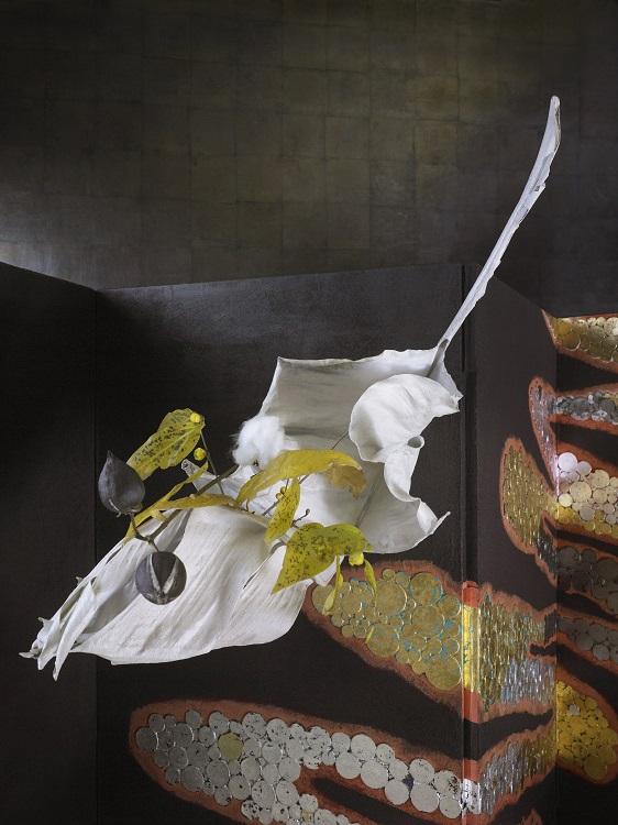 花:鈴木ひろ子、撮影:堀田貞雄